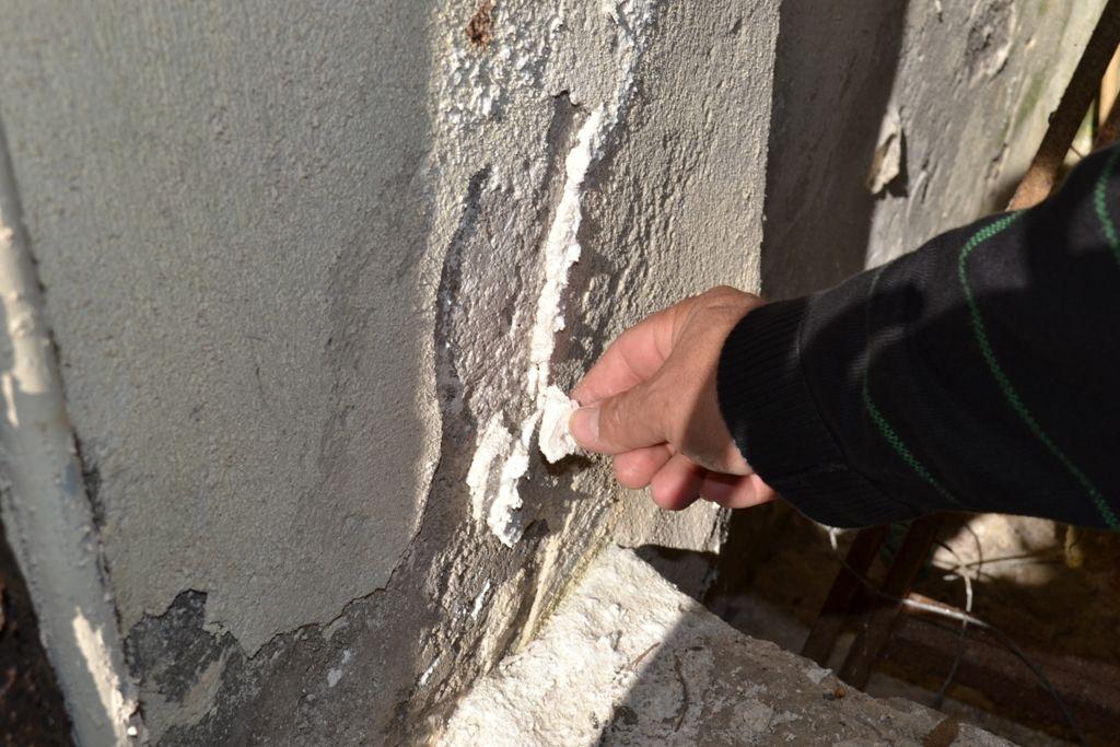 Άλατα στην τοιχοποιία