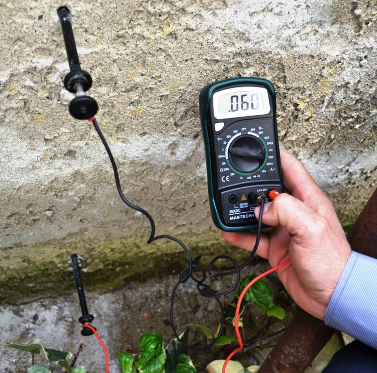 Μέτρηση ηλεκτρικού δυναμικού